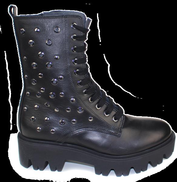 Kalenas Silver Grommet Boots